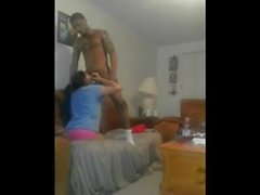 BLACK COCK CHURCH & r aquo_ Very gifted black man gets some good head from his cute latina
