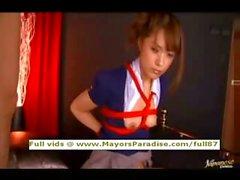 Mihiro innocenza brunette Cina ottiene scopato duro