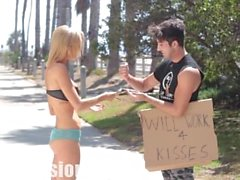 Kissing Prank - HOMELESS EDITION