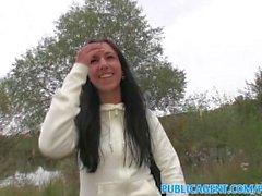 PublicAgent Pitkä musta tukka tyttö mulkut julkisen sektorin