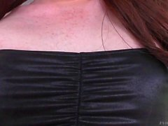 Tranny Self Footjob and Ass Toying