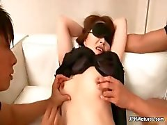 Sexy asian milf goes crazy part1