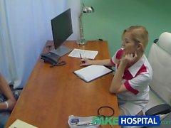 FakeHospital Studin cums koko hoitajien mahan