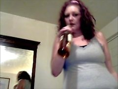 Young Hot Redhead Pisses on Everything in the Room! 10 Wet Piss Scenes!