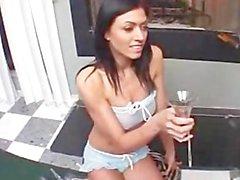 Dillan Lauren Swallows Some Loads