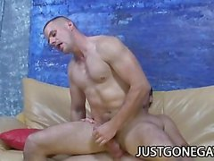 Horny Guys Ryan Starr And Park Wiley Loving Their Assess