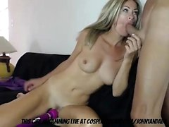 MILF Playing With Her Boytoy...