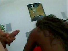 Black Girl Get Gangbang