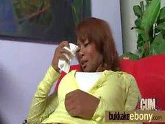 Harter ebony geblasen Gruppe 13