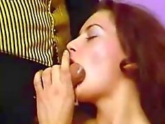 Kinky Vintage DP's W-Cumming Hard Cocks..