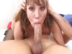 Ava Devine Gets Throated DTD