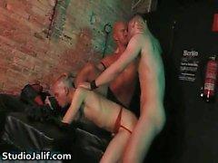 Peto Coast ve Marcel Hoffmann harika homoseksüel