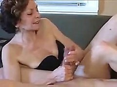 Femdom Handjob cum shot Compilation nice