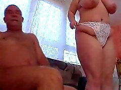 Fat German amateur loves cock and swallows