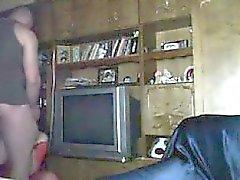 Horny girlfriend on hidden camera