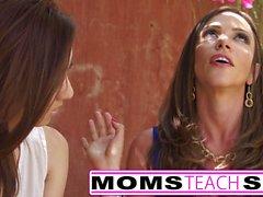 Moms Teach Sex - Stepmom fucks stepdaughters boyfriend