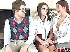 Ava Addams shows Dillion how its done