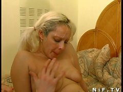 Amateur french slut gets anal fucked