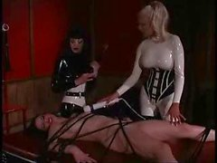 Lesbian Group In Latex