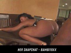 Ebony Trio impressionante HER Snapchat - BAMBI18XX