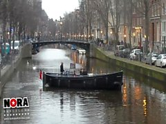 Porn in Amsterdam with Nora Barcelona