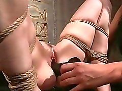 Mistress playing with her sexy slavegirl