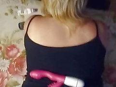 Min ryska fru sperm på pantyhose.