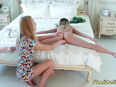 beauty real flexible contortion teen doll