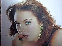 Lindsay Lohan Sperma Widmung 1.