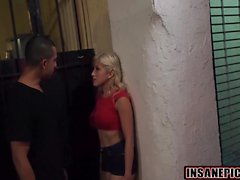 Boosty blonde teen Cristi Ann gets fucked by a fat dick