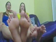 парой больших блондинками ног американская девушка Янки дуэта