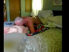 Elderly couple sextape