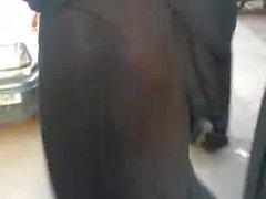 Hijab Abaya Candid : 020