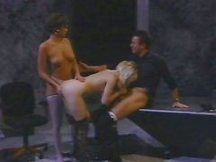 Kaitlyn Ashley and pal in classic threesome fun