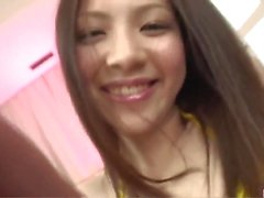 Rika Koizumi fucked from behind and jizzed on face