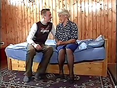 Granny with a young man