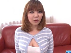 Ai Suzuki fucked with toys and filmed in the same time