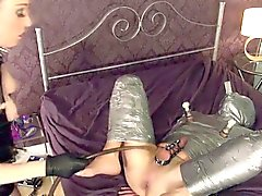 English prodomme punishes mummified subject