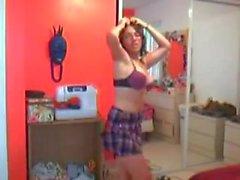 Girl Caught on Webcam - Part 37 Dancing Queen