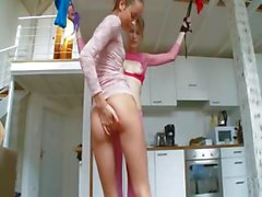 18yo estonian chicks playing with toys