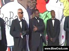 Interracial Gangbang - The power of big black cock 25