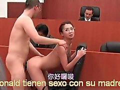 ronald samt Shoko jävla advokat vid domstol film Asien och fullständig