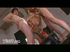Jizzing On Her Glasses - Japanese