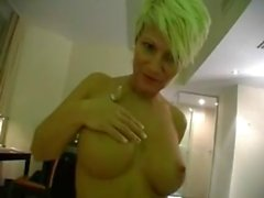 German amateur blonde milf fucked in hotel
