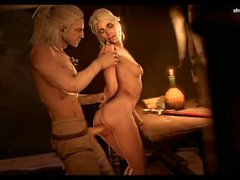 The Witcher Ciri porn music compilation