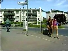 German couple incredible fuck in public