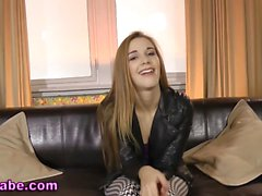 Euro teen gets pounded