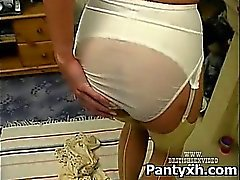 Sexy Pantyhose Fucking For Kinky Slut