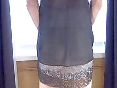 nylon and lace 2 wanking