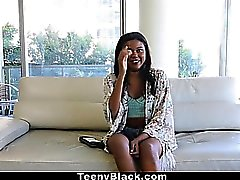 TeenyBlack - Petite Dark Mocha Babe First Porn